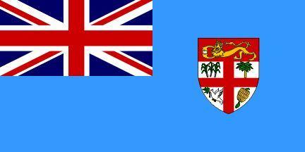 斐济群岛国旗呈横长方形