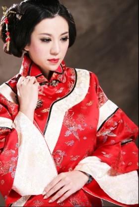 秀禾服 中式新娘礼服图片