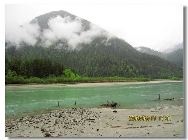 然乌湖国家森林公园