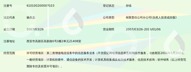 深圳市彩讯科技有限公司西安分公司_360百科