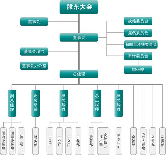 电力设计单位组织结构图