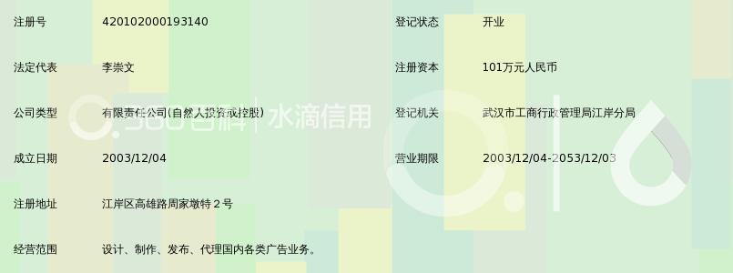 武汉李氏泛华广告新闻学和平面设计图片